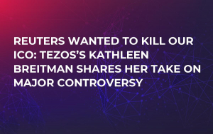 Reuters Wanted to Kill Our ICO: Tezos's Kathleen Breitman Shares Her Take on Major Controversy