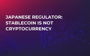 Japanese Regulator: Stablecoin Is Not Cryptocurrency