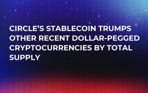 Circle's Stablecoin Trumps Other Recent Dollar-Pegged Cryptocurrencies by Total Supply
