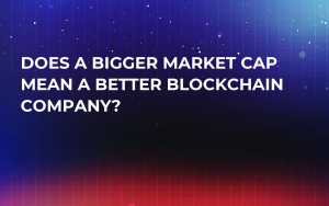 Does a Bigger Market Cap Mean a Better Blockchain Company?
