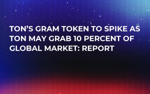 TON's Gram Token to Spike as TON May Grab 10 Percent of Global Market: Report