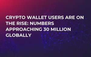 Crypto Wallet Users are on the Rise: Numbers Approaching 30 Million Globally