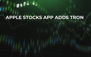 Apple Stocks App Adds TRON