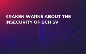 Kraken Warns About the Insecurity of BCH SV