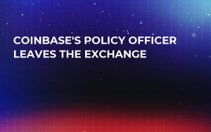 Coinbase's Policy Officer Leaves the Exchange