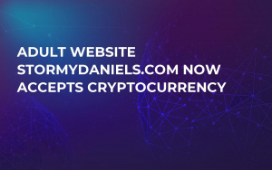 Adult Website StormyDaniels.com Now Accepts Cryptocurrency