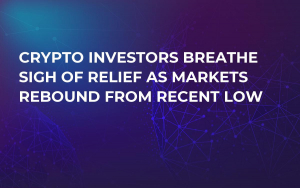 Crypto Investors Breathe Sigh of Relief as Markets Rebound from Recent Low