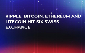 Ripple, Bitcoin, Ethereum and Litecoin Hit SIX Swiss Exchange