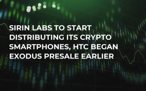 Sirin Labs to Start Distributing Its Crypto Smartphones, HTC Began Exodus Presale Earlier