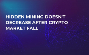 Hidden Mining Doesn't Decrease After Crypto Market Fall