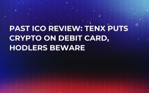 Past ICO Review: TenX Puts Crypto on Debit Card, Hodlers Beware