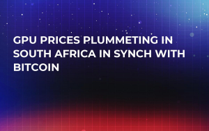 GPU Prices Plummeting in South Africa in Synch with Bitcoin