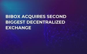 Bibox Acquires Second Biggest Decentralized Exchange