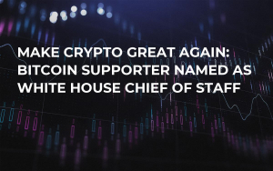 Make Crypto Great Again: Bitcoin Supporter Named as White House Chief of Staff