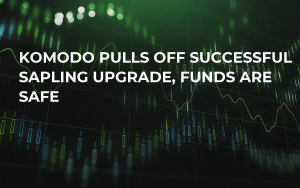 Komodo Pulls Off Successful Sapling Upgrade, Funds Are Safe