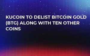 KuCoin to Delist Bitcoin Gold (BTG) Along with Ten Other Coins