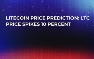 Litecoin Price Prediction: LTC Price Spikes 10 Percent