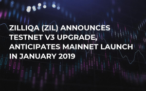Zilliqa (ZIL) Announces Testnet v3 Upgrade, Anticipates Mainnet Launch in January 2019