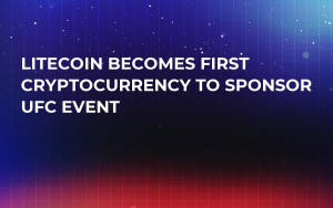 Litecoin Becomes First Cryptocurrency to Sponsor UFC Event