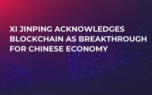 Xi Jinping Acknowledges Blockchain As Breakthrough For Chinese Economy