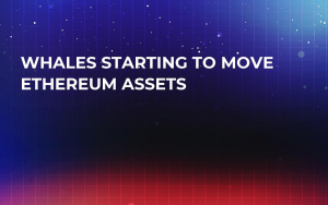 Whales Starting to Move Ethereum Assets