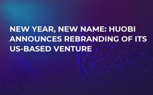 New Year, New Name: Huobi Announces Rebranding of Its US-Based Venture