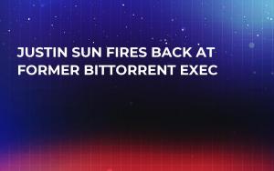 Justin Sun Fires Back at Former BitTorrent Exec