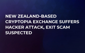 New Zealand-Based Cryptopia Exchange Suffers Hacker Attack, Exit Scam Suspected