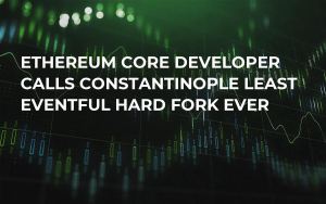 Ethereum Сore Developer Calls Constantinople Least Eventful Hard Fork Ever