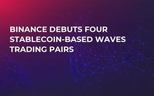 Binance Debuts Four Stablecoin-Based WAVES Trading Pairs