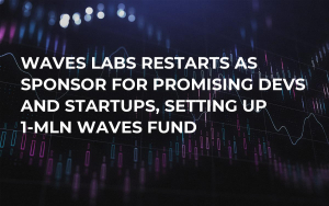 Waves Labs Restarts as Sponsor for Promising Devs and Startups, Setting up 1-mln WAVES Fund