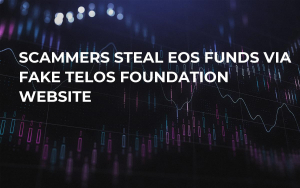 Scammers Steal EOS Funds Via Fake Telos Foundation Website