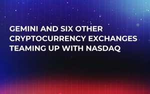 Gemini and Six Other Cryptocurrency Exchanges Teaming Up with Nasdaq