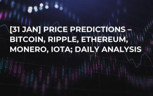 [31 JAN] Price Predictions – Bitcoin, Ripple, Ethereum, Monero, IOTA; Daily Analysis