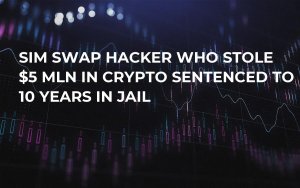 SIM Swap Hacker Who Stole $5 Mln in Crypto Sentenced to 10 YEARS in Jail