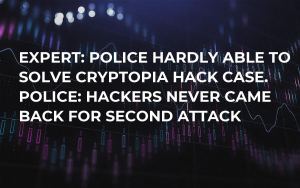 Expert: Police Hardly Able to Solve Cryptopia Hack Case. Police: Hackers Never Came Back for Second Attack
