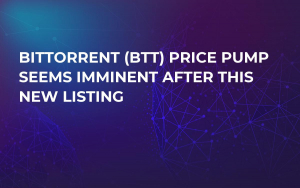 BitTorrent (BTT) Price Pump Seems Imminent After This New Listing