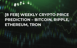 [8 Feb] Weekly Crypto Price Prediction – Bitcoin, Ripple, Ethereum, Tron