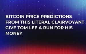 Bitcoin Price Predictions from This Literal Clairvoyant Give Tom Lee a Run for His Money