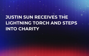Justin Sun Receives the Lightning Torch and Steps into Charity