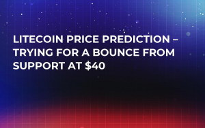 Litecoin Price Prediction – Trying for a Bounce from Support at $40