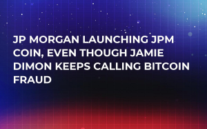 JP Morgan Launching JPM Coin, Even Though Jamie Dimon Keeps Calling Bitcoin Fraud