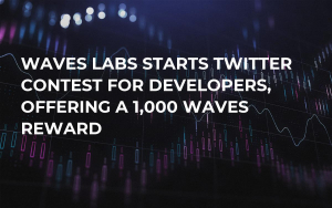 Waves Labs Starts Twitter Contest for Developers, Offering a 1,000 WAVES Reward