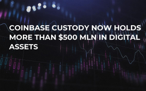 Coinbase Custody Now Holds More Than $500 Mln in Digital Assets