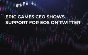 Epic Games CEO Shows Support for EOS on Twitter