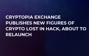 Cryptopia Exchange Publishes New Figures of Crypto Lost in Hack, About to Relaunch