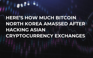 Here's How Much Bitcoin North Korea Amassed After Hacking Asian Cryptocurrency Exchanges