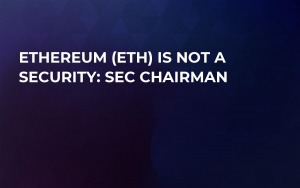 Ethereum (ETH) Is Not a Security: SEC Chairman