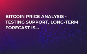 Bitcoin Price Analysis - Testing Support, Long-Term Forecast Is…