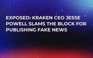 EXPOSED: Kraken CEO Jesse Powell Slams The Block for Publishing Fake News
